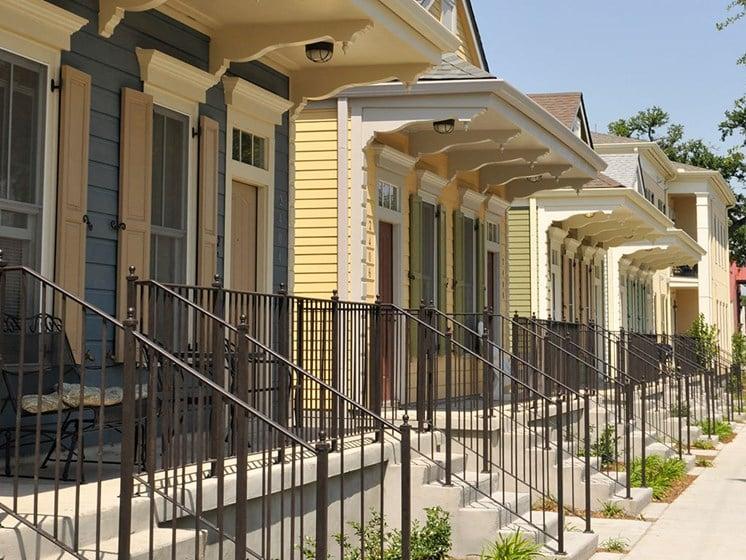Front exterior balconies_Lafitte,New Orleans, LA