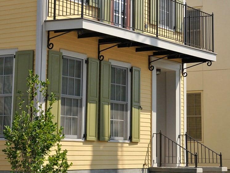 Exterior apartment building and balcony_Lafitte,New Orleans, LA
