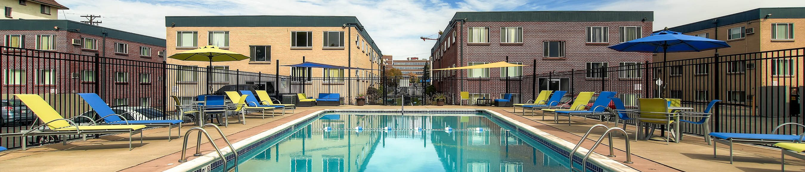 Off Broadway Flats Pool and Buildings