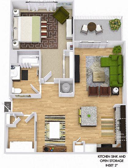 Floor Plans Of Bexley Village At Concord Mills In Concord Nc