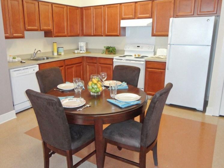 Apartment with modern kitchen