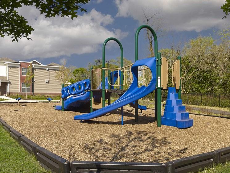 Rush Crossing playground in Trenton, NJ