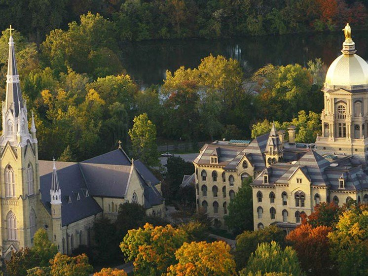 University of Notre Dame (less than 5 miles away)