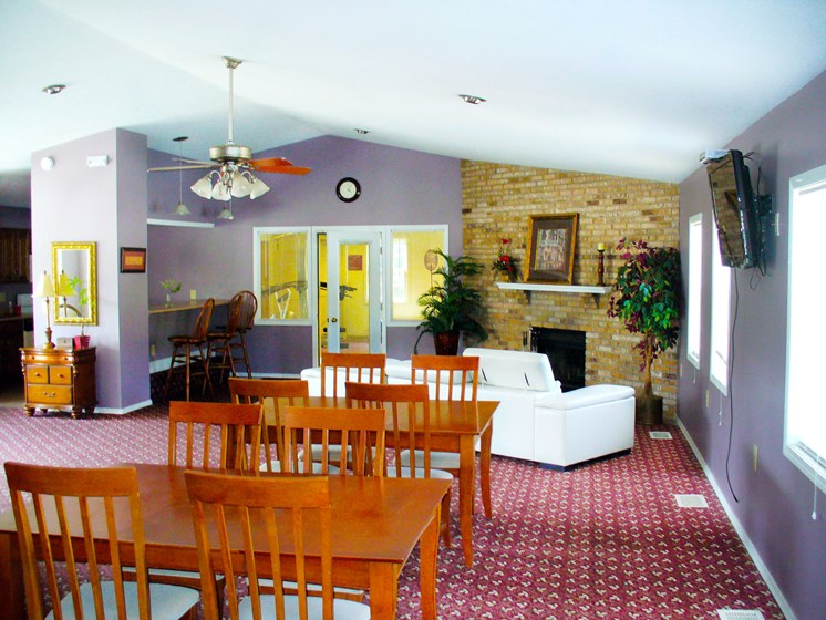Maple Lane Apartments Tenant Lounge