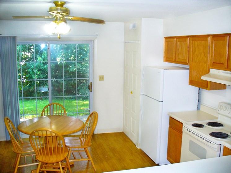 Maple Lane Apartment Kitchen