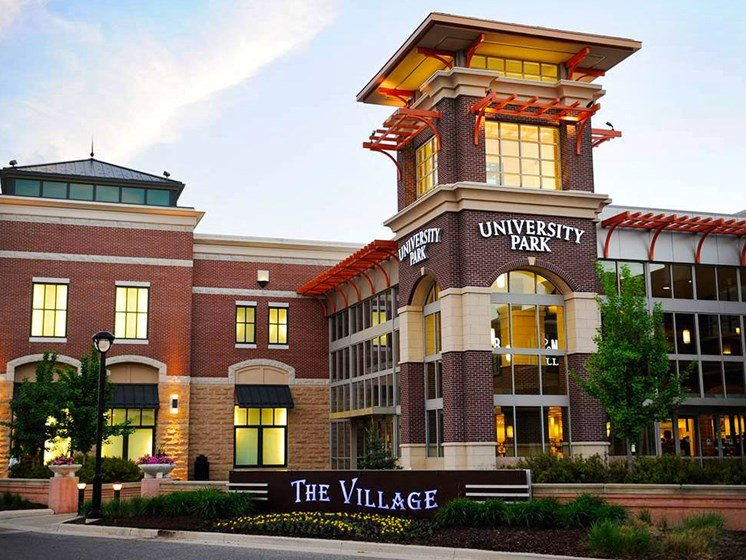 University Park Mall (6 miles away)