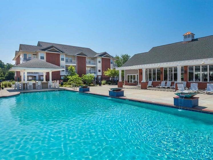 resort-style pool at 1200 Acqua