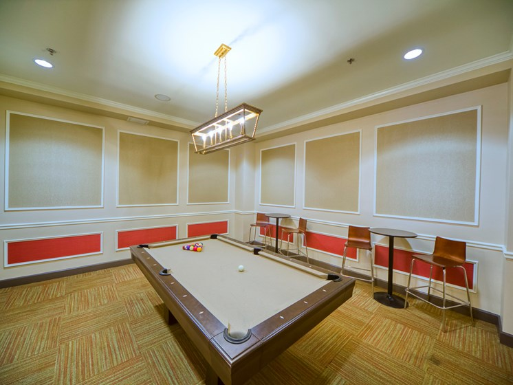 The Carling Apartments | Jacksonville, FL | Billiards