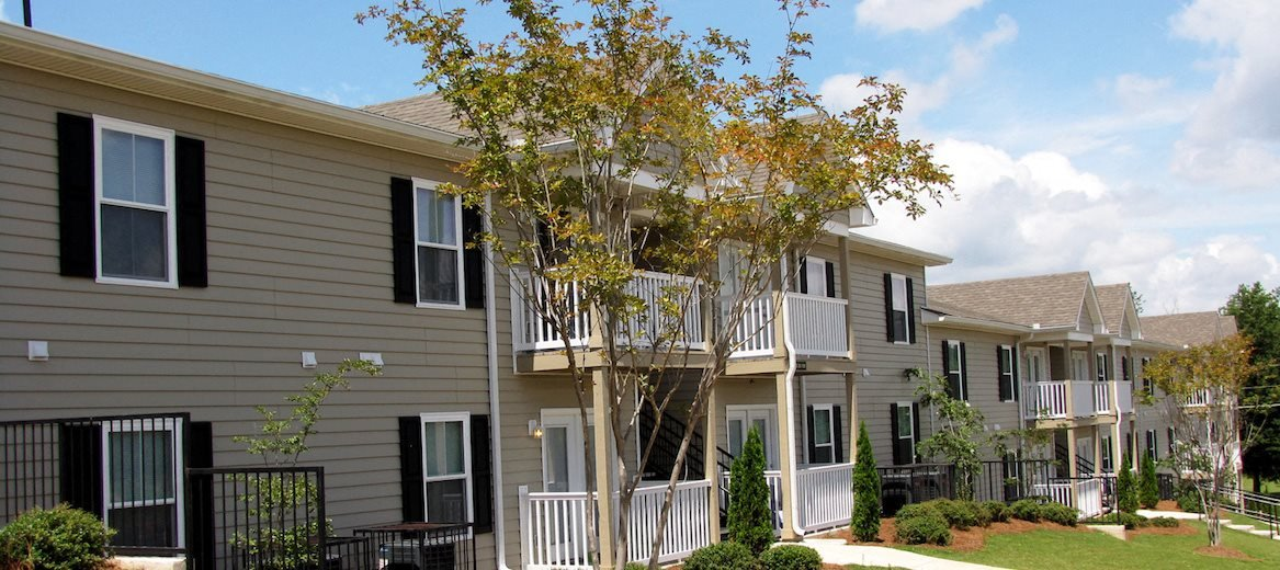 Southbrook apartments with lush landscaping