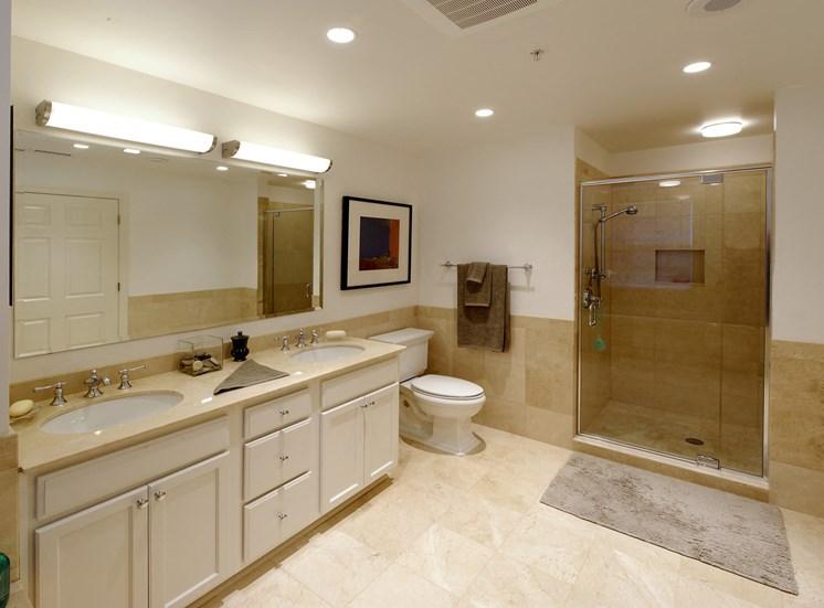 dual sink master bathroom