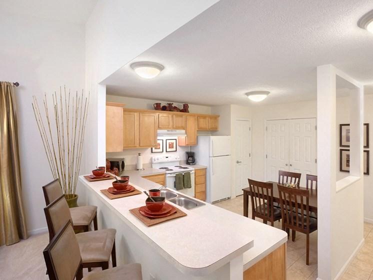 Elyria OH Apartment Rentals Redwood Hidden Acres Kitchen