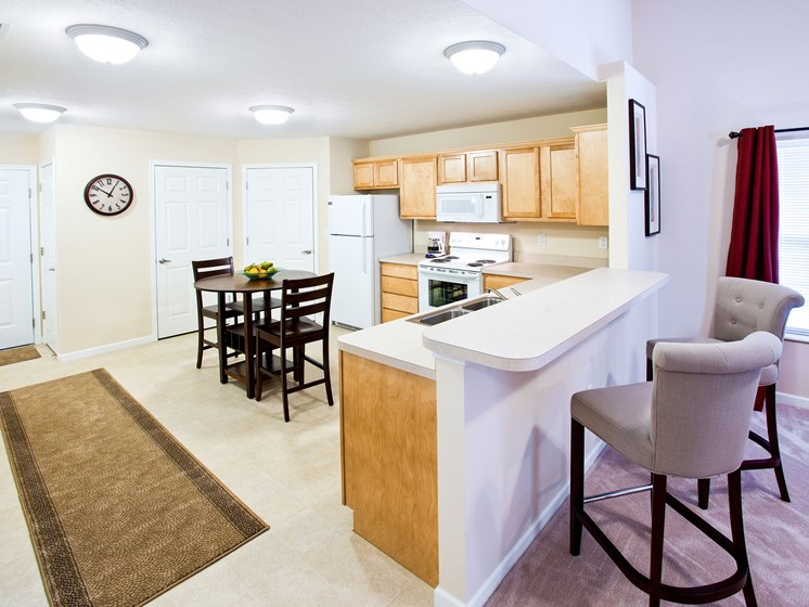 Medina OH Apartment Rentals Redwood Blackberry Trails Of Montville Green Ash Trail Standard Kitchen