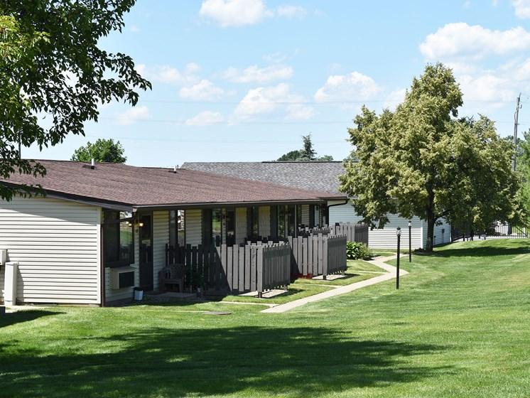 Akron Ohio Apartment Rentals Northampton Apartments by Redwood Exterior Front View