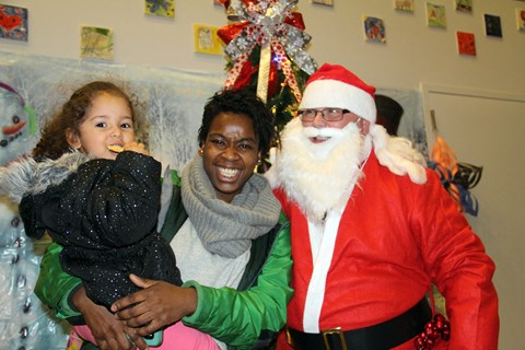 Holiday Party at Tierney Learning Center in Boston, MA