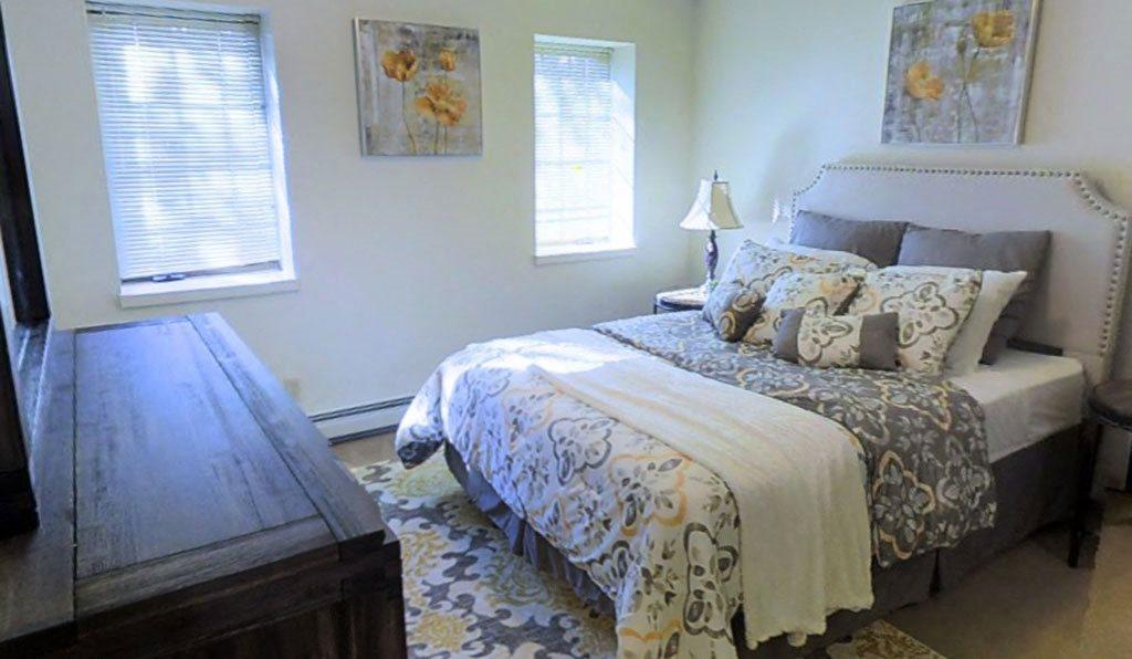 Master Bedroom at Birchwood Homes in Fairbanks, AK