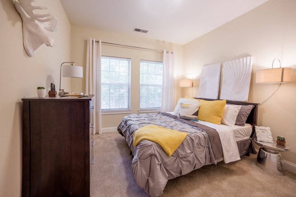 Carpeting in Bedrooms, at Buckingham Monon Living, Indianapolis, IN 46220
