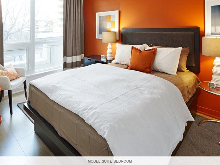 Model Suite Bedroom