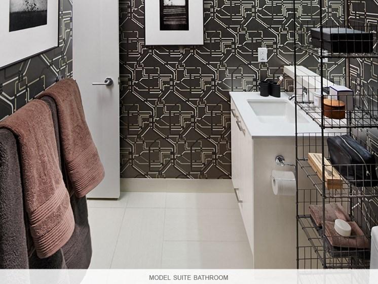 Model Suite Bathroom