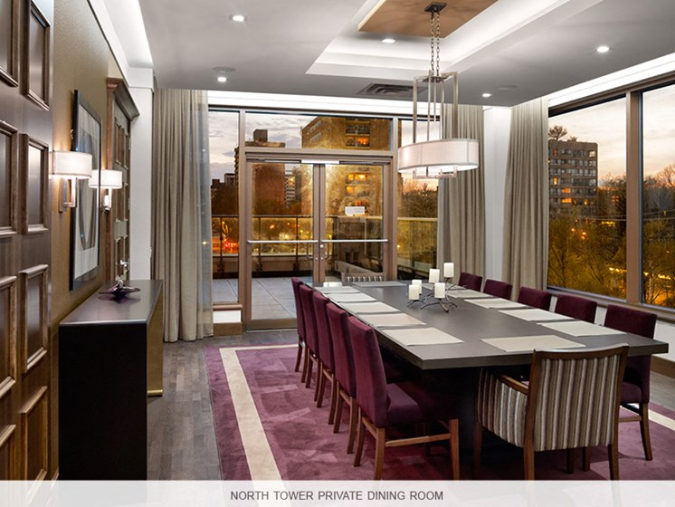 Private Dining Area North Tower