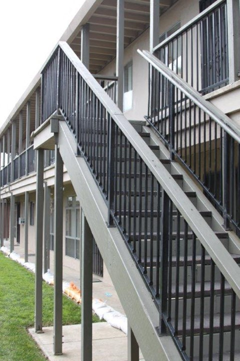 Photo of stairs at Broadway Apartments