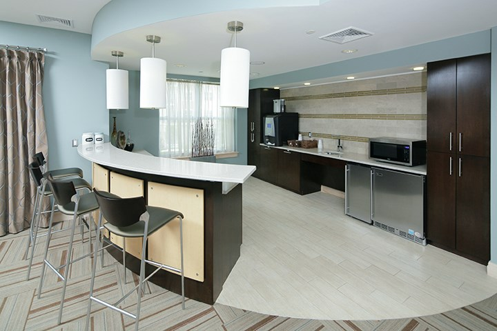 Resident lounge and coffee bar