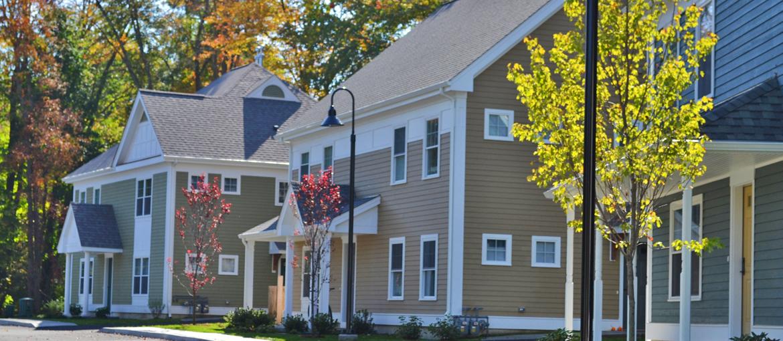 Marshfield Commons apartments in North Smithfield, RI