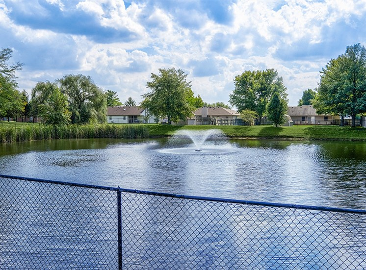 Tranquil Pond at Loper Commons
