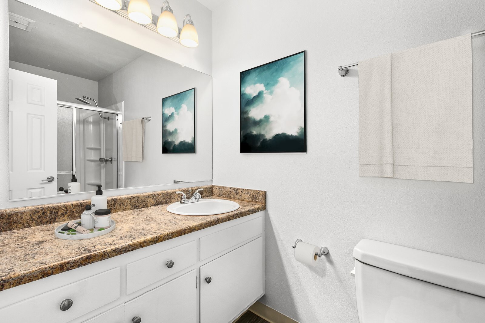 Bathroom Interior Photo at Milano Apartments 20900 Anza Ave Torrance, CA 90503