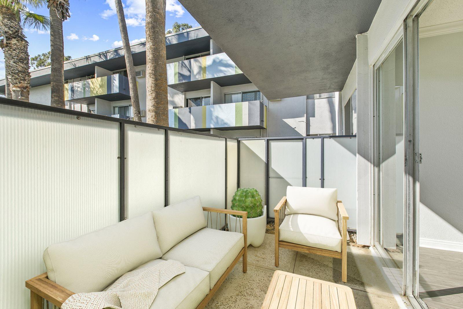Private Patio Photo at Milano Apartments 20900 Anza Ave Torrance, CA 90503