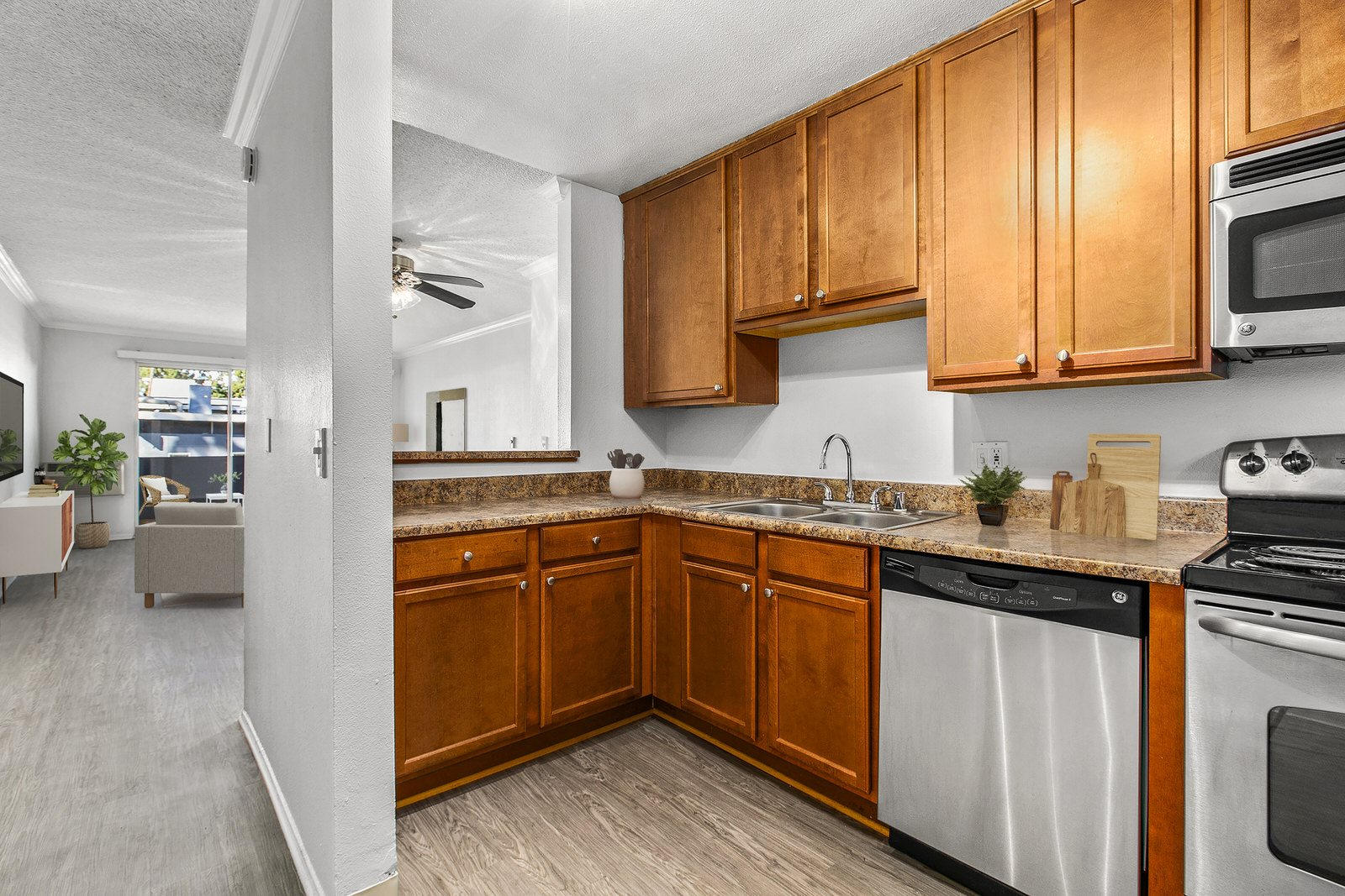 Interior Photo at Milano Apartments 20900 Anza Ave Torrance, CA 90503