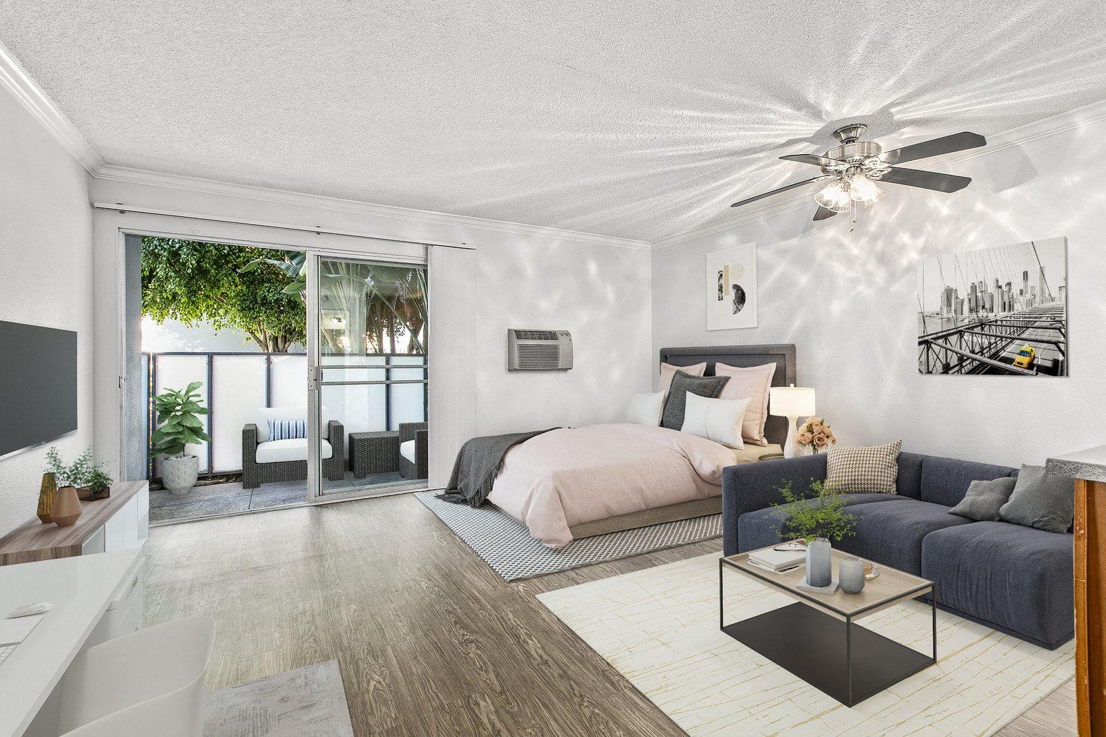 Interior Photo Studio For Rent at Milano Apartments 20900 Anza Ave Torrance, CA 90503