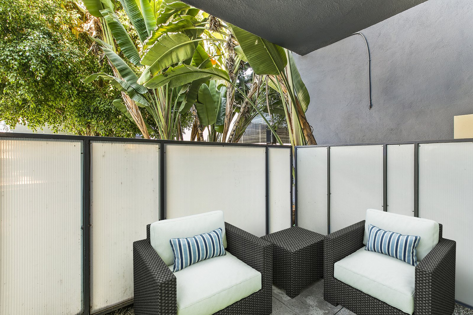 Private Patio Photo Studio For Rent at Milano Apartments 20900 Anza Ave Torrance, CA 90503