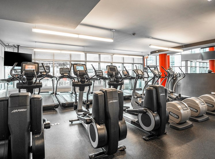 Alta at K Station's professional fitness center in Chicago