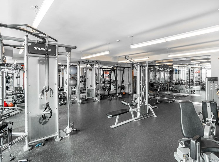 Alta at K Station's professional fitness center