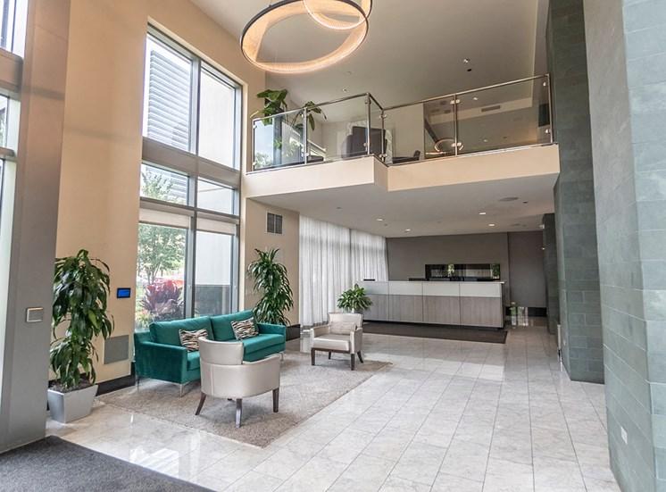 Alta at K Station apartments lobby