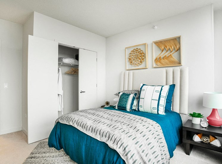 Bedroom in Alta at K Station's apartment for rent in Chicago