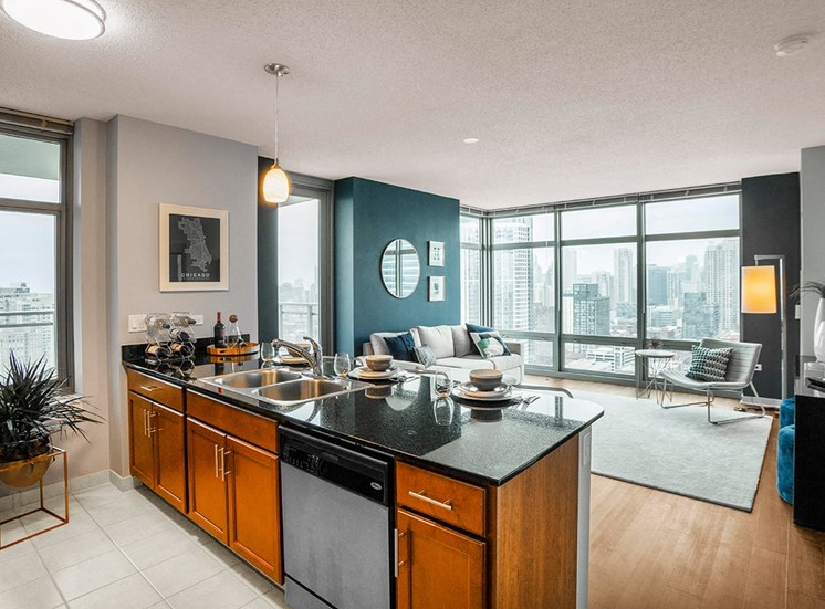 Alta at K Station luxury apartments in Chicago, IL