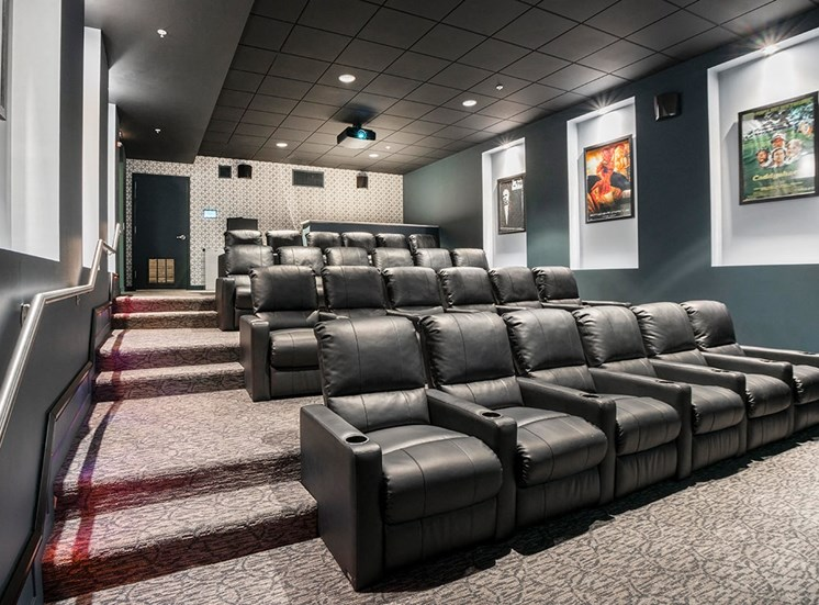 Alta at K Station's private movie theater