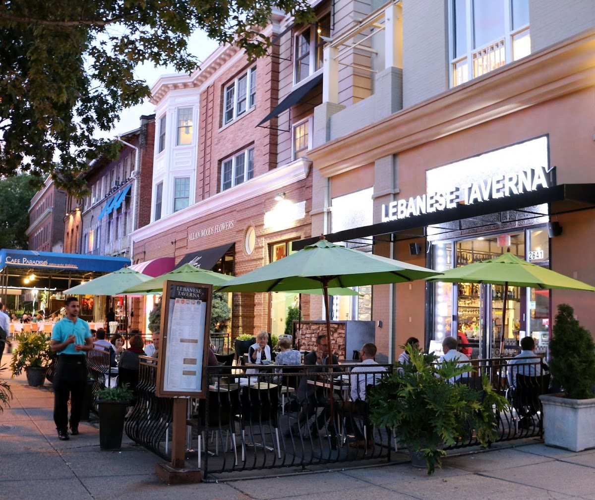 Calvert House is Centrally Located for Easy Dining and Shopping Dining