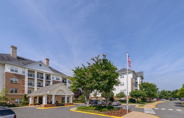 Gated Entrance at Evergreens at Smith Run, Virginia