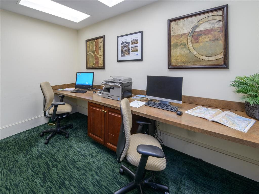 Well-Equipped Business Center Is Available 24 Hours A Day, Seven Days A Week, For Residents Who Need To Print, Fax, Or Check Their Email