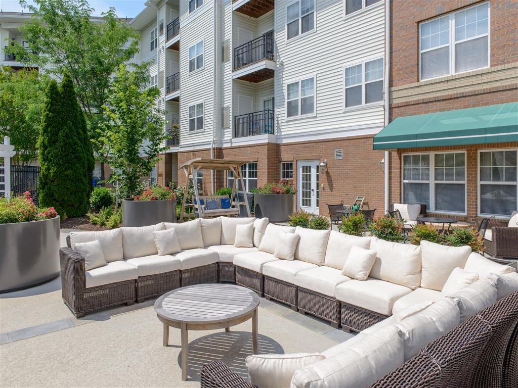 Furnished Patio For Your Enjoyment