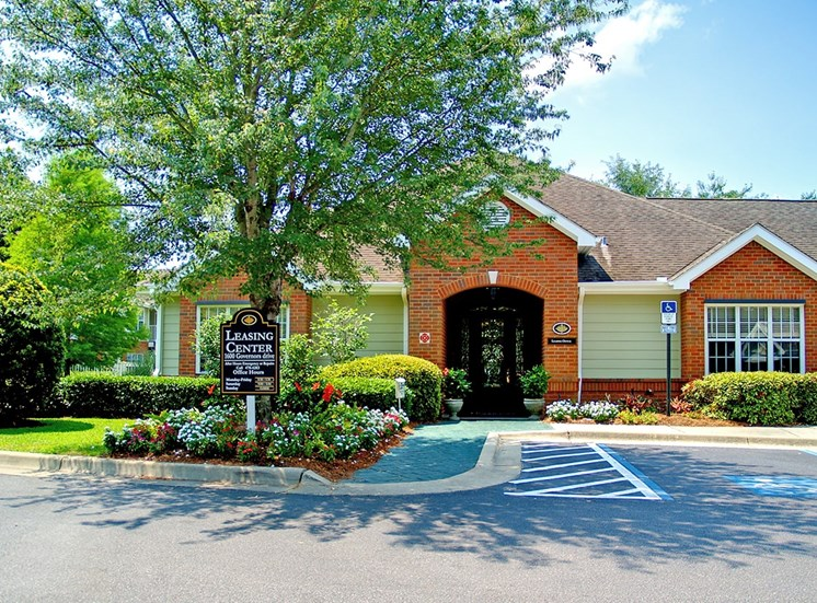 Governors Gate apartments leasing center in Pensacola, Florida