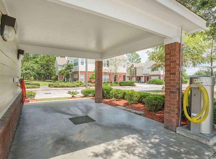 Greenbrier Estates apartments car care center in Slidell, Louisiana
