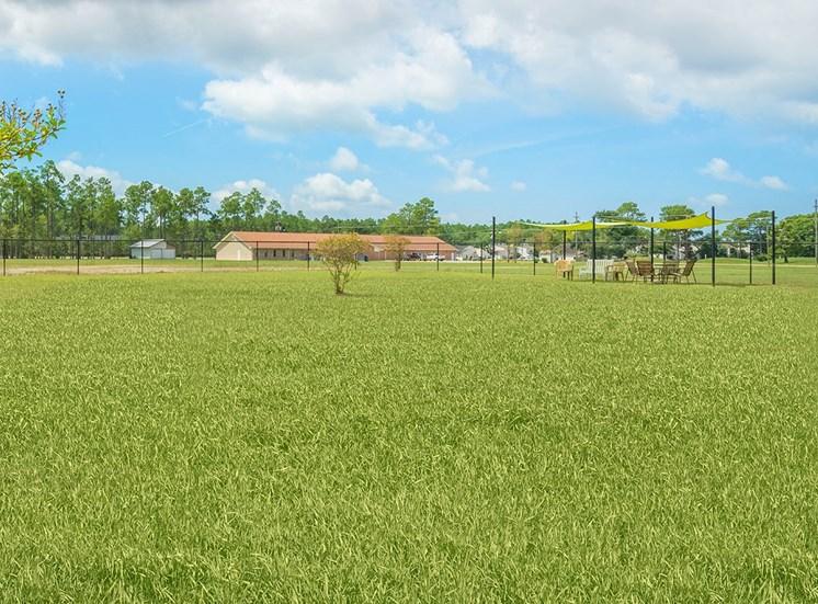 Greenbrier Estates apartments dog park in Slidell, Louisiana