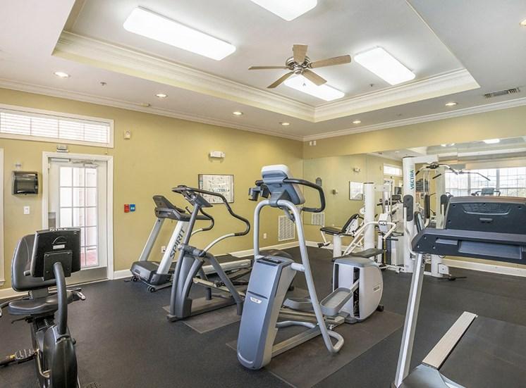 Greenbrier Estates apartments fitness center in Slidell, Louisiana