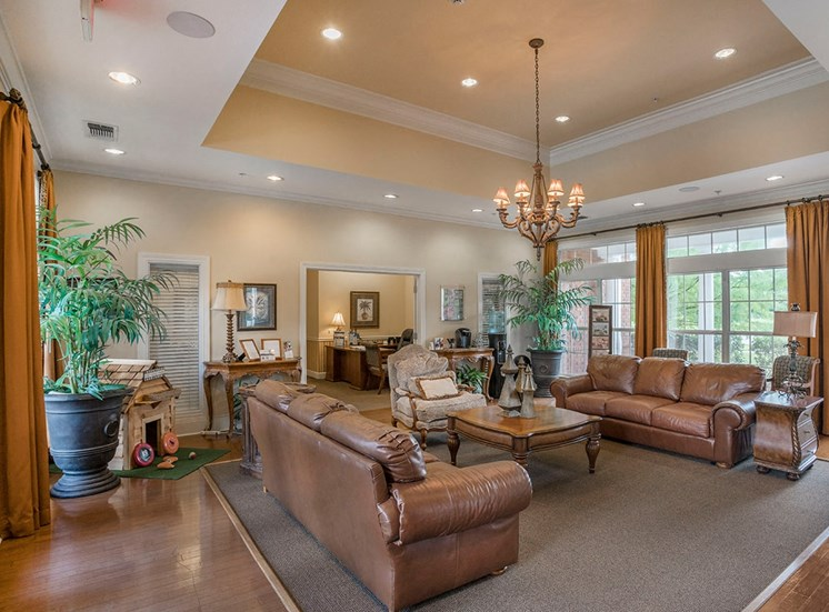 Greenbrier Estates apartments leasing center in Slidell, Louisiana