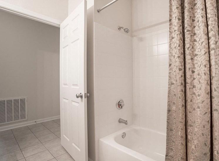 Greenbrier Estates model suite bathroom in Slidell, Louisiana