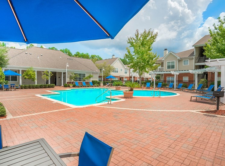 Greenbrier Estates apartments swimming pool in Slidell, Louisiana