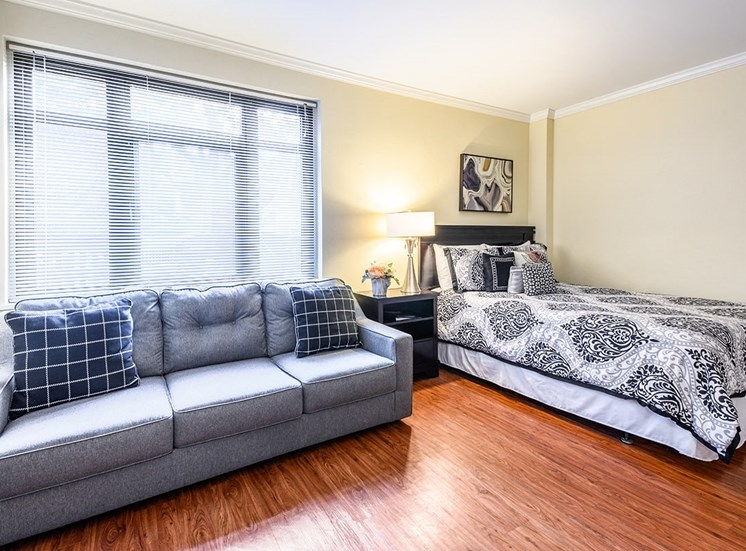 Studio apartment at The Georgian in New Orleans